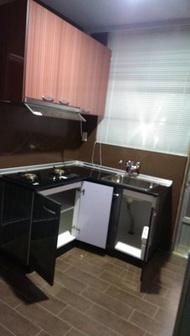 亞毅系統櫥櫃 流理台 歐化廚具 可訂做 L型流理台 一字型流理台 不鏽鋼檯面 不鏽鋼桶身全省安裝