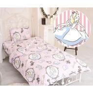 *現貨*日本代購 正品 正版 迪士尼 愛麗絲 Alice 單人床包組 床罩 被套 床單 床包 和式 洋式