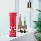 【THERMOS膳魔師】聖誕麋鹿 不鏽鋼真空保溫杯0.3L(JNC-300-CCRD)CDRD(聖誕麋鹿)