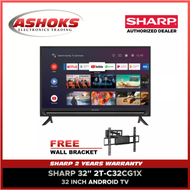"Sharp 32 inch Smart Android Led TV / Sharp 32 inch Smart TV /  Sharp 2T-C32CG1X 32"" WXGA ANDROID TV (2 Years Warranty) / Smart Tv"