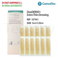 ConvaTec 187961 - DuoDERM Extra Thin Dressing - 2 x 8 Inches, 10 Count (1 Box)