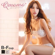 Qmomo Strapless Lace 1/2 Cup Bra and Panty Set (With Optional Straps  Sizes B-F)(A57Q1705037)