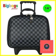 กระเป๋าจัดระเบียบ ร้านแนะนำฺBigBagsThailand กระเป๋าเดินทางล้อลาก 14 นิ้ว รุ่น Louise Classic 99614 กระเป๋าเดินทาง