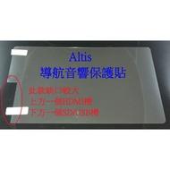 2017年Toyota 豐田Altis 導航音響保護膜 觸控保護貼 (左下方二個卡槽HDMI/SD USB記憶卡槽)#4