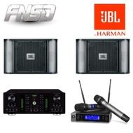 【FNSD+JBL】專業卡拉ok喇叭麥克風組合(A-250+RM10+VM200)