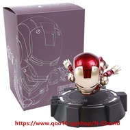 IRON MAN MK MAGNETIC FLOATING ver. with LED Light Iron Man Action Figure Collection Toy 3 Colors RC1