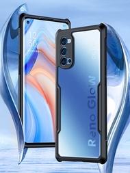 Xundd CaseสำหรับOPPO RENO 4 RENO4 Pro 5GกรณีShockproofโทรศัพท์กล้องป้องกันถุงลมนิรภัยกันกระแทกโทรศัพท์กรณี