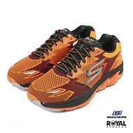 【全館2000現折200】Skechers Go Run 橘色 網布 運動慢跑鞋 男款 NO.B0862【新竹皇家 54005BKBL】