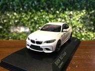 1/43 Minichamps BMW M2 Coupe 2016 White【MGM】