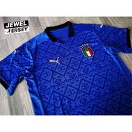 โปรโมชัน ITALY home kit EURO 2020 เสื้อฟุตบอลทีมชาติอิตาลี เหย้า ยูโร 2020 ราคาถูก ฟุตบอล