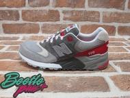 BEETLE PLUS 西門町專賣店 NEW BALANCE ML999 GFR 3M反光 慢跑鞋 麂皮 灰紅 ML999GFR