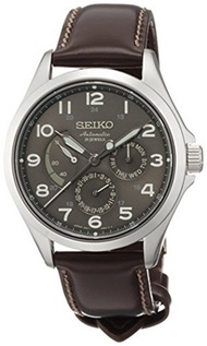 (Presage) SEIKO PRESAGE Men s SARW019 Analog Automatic Brown Watch-SARW019