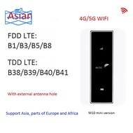 4G MiFi Router 4G Wifi Router 150Mbps Supports 5G SIM Card Car Mobile WiFi Hotspot with Sim Card Slot