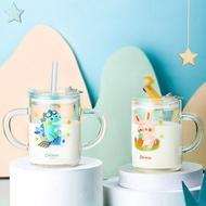 兒童帶刻度可微波吸管式牛奶杯250ML 618購物節