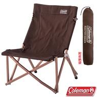 【美國 Coleman】達人帆布低坐姿休閒椅(耐重80kg).折疊椅.導演椅.折合椅.露營椅/CM-37442