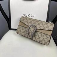 GUCCI Gucci Dionysus Dionysus series GG กระเป๋าสะพายข้างขนาดเล็ก Bacchus bag