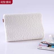 : Super Soft Skin Knit Cotton Memory Foam Children Baby Mini Pillow Wavy Neck Pillow Memory Foam