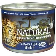 【3罐再優惠】NATURAL10+【原野主食罐】大罐185G,紐西蘭無穀主食罐,原野N10+主食貓罐頭