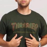 美國正品🇺🇸滑板Thrasher flame logo 火焰 短袖T恤 正品 瑪雅民族圖騰款 黑 潮流滑板款式