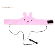 Kids Volume Limited With Easy Adjustable Toddler Costume Silky Headband Headphones Children, Perfect For Air Travel Bunn
