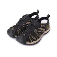 LOTTO 冒險者護趾運動涼鞋 軍綠 LT9AMS0215 男鞋 鞋全家福