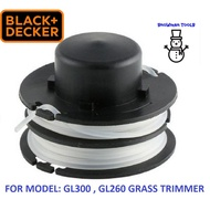 RS300 SPOOL LINE REFILL NYLON STRING BLACK&DECKER GL300 GRASS TRIMMER CUTTER, 2X3M,SPARE PART ACCESSORIES GL260