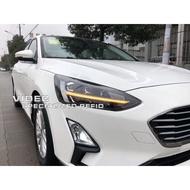巨城汽車精品 福特 2019 FOCUS MK4 低階 鹵素版/時尚版 升級 高階 全LED 光導 魚眼大燈總成
