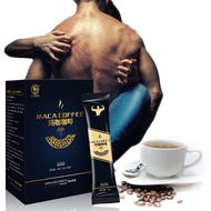 ✓15bags/box Maca Coffee X Power for Men Enhance Libido Relieve Stress Promote Erection Sex Products Health Product Kidne