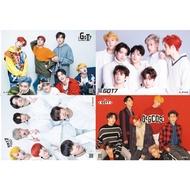 HOT BTS 8pcs set Kpop GOT7 Collective Photo PhotoCard