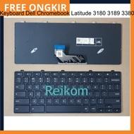 [Bayar Di Tempat] Keyboard Laptop Keyboard Chromebook Latitude 3180 3189 3380 / Keyboard Chromebook Latitude 3180 3189 3380 11-3180 11-3189