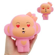 Face Monkey Squishy 14*13*7CM Slow Rising Collection Gift Soft Toy