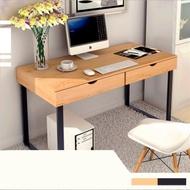 [限時搶] Incare 雙抽屜書桌收納辦公桌(48x100x74cm)