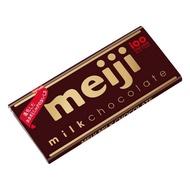 【Meiji 明治】牛奶巧克力-片裝50g(牛奶巧克力)
