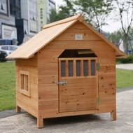 Pet house/Water Resistant Free Shipping Fir Wood Dog House Wooden Dog House Dog House Small Dog House Pet Bed Dog Cage D