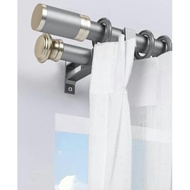 ๑[READY STOCK] DOUBLE (FULL SET): [Size 28mm] Curtain Rod / Curtain Rod / Curtain Rod