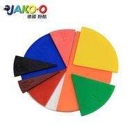 JAKO-O 德國野酷-數學教具分數板(22入)