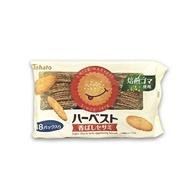 東鳩Tohato 醇香焙煎白芝麻餅乾 18小袋