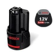 BOSCH博世 GBA 12V 2.0Ah 鋰電池 電動起子機 電動工具 電鑽(GSB GDR GSR可用)同10.8V
