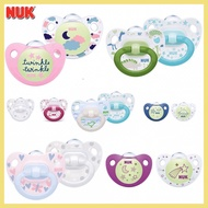 NUK Puting Kosong Silicone Pacifier Soother 0-6m 6-18m 18-36m (2 Pcs/Box)