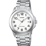 Casio นาฬิกาข้อมือผู้ชาย สายสแตนเลส รุ่น MTP-1215 ของแท้ประกันศูนย์