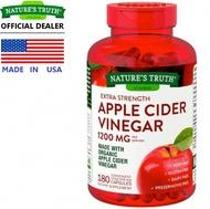 Nature's Truth Apple Cider Vinegar แบบเม็ด ขนาด 1,200 Mg จำนวน 180 แคปซูล
