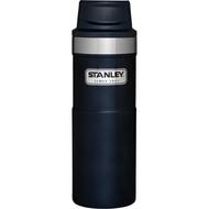 【Stanley 美國】經典單手咖啡杯2.0 不鏽鋼保溫杯 304不鏽鋼 保溫杯 保溫瓶 藍 /10-06439【 473ml 】
