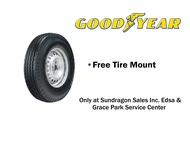 Goodyear 750-14 8PR Hi-Miler G2020 (Rib Type) Commercial Bias Tire with Inner Tube (SET)