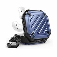 SUPCASE Unicorn Beetle Pro 保護殼 適用Galaxy Buds Live 2020 黑/藍 [2美國直購]