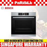 Bosch HSG636ES1 Built-in Oven with Steam Function (71L)