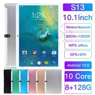 S13 Tab 10.1 Inch 4G LTE Game tablet RAM 8GB + ROM 128GB 10 Core Dual SIM Phablet Support Google Play Tablet