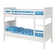 IKEA NORDDAL 上下舖床框, 白色