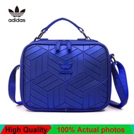 Adidas_Issey Miyake 3D Street Style Casual Outdoor Unisex Men And Women Single Shoulder Bag Sling Bag Tote Bag Cross Body