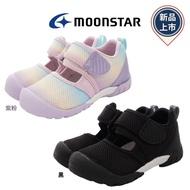 新品任選★日本月星頂級童鞋 HI系列護趾速乾鞋2254紫粉/黑(中小童段)