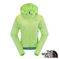 【The North Face】女 彈性風衣外套S芽綠